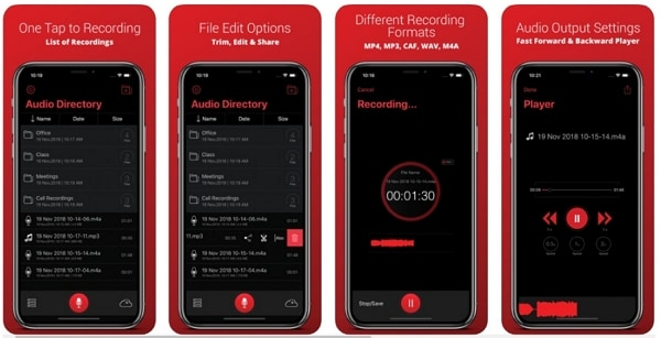 Recorder Plus : Voice Recorder app