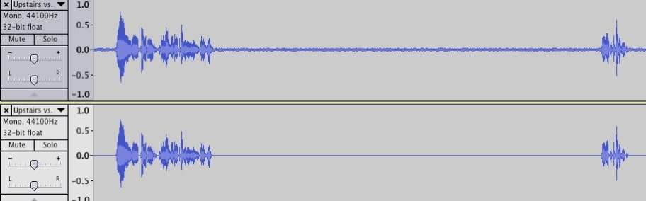 hintergrundgeräusche in audacity entfernen