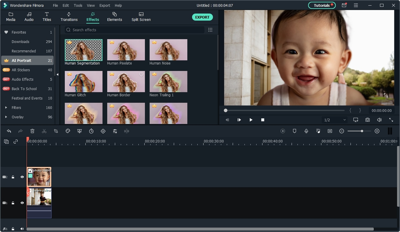 make reaction video: remove video background