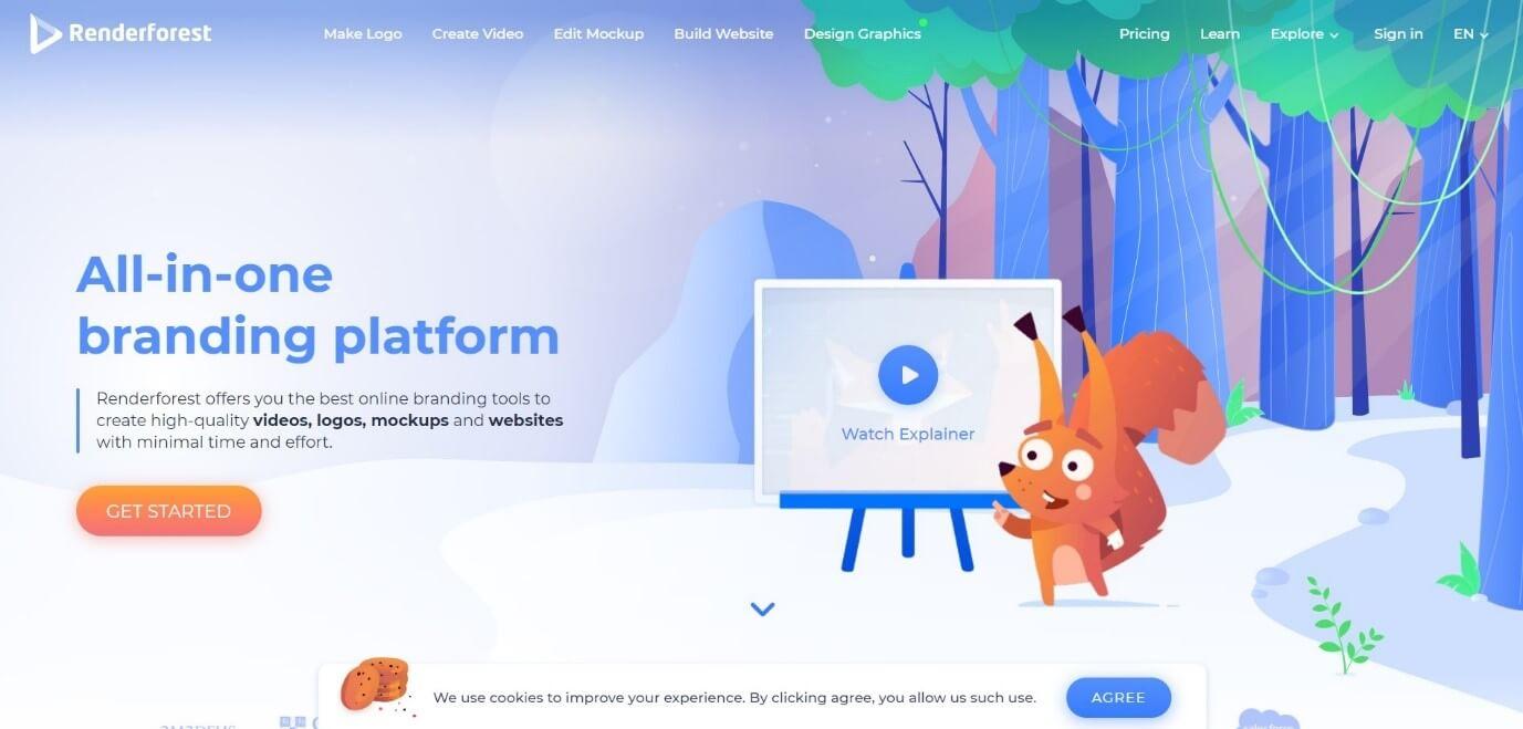 Renderforest Online