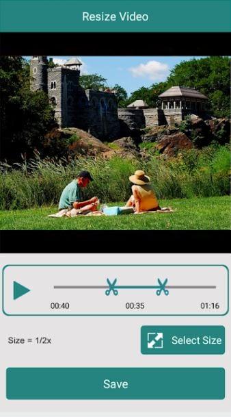 تعديل حجم الفيديو