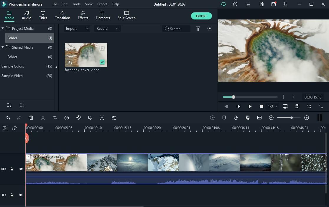 Reverse Video in Filmora
