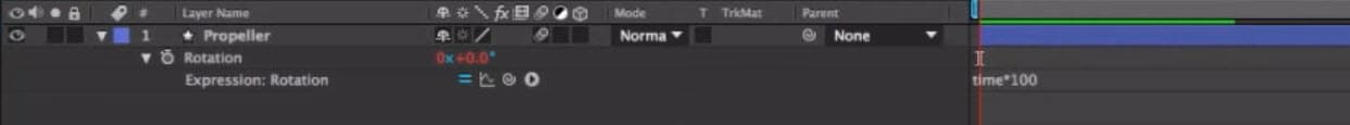 rotate video in after effects -4