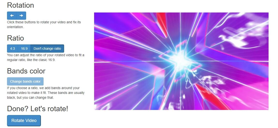 online video rotator - Rotatemyvideo