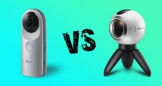 samsung gear 360 vs lg 360cam