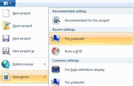 save video windows movie maker