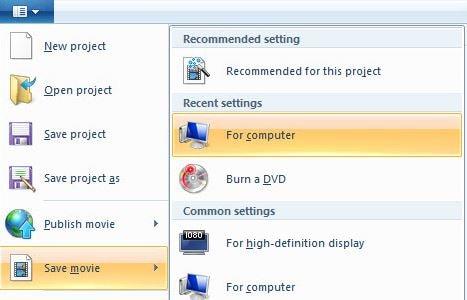 save video windows movie maker