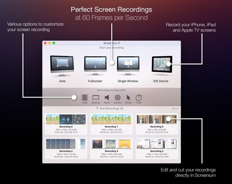 Screenium Screen Recorder
