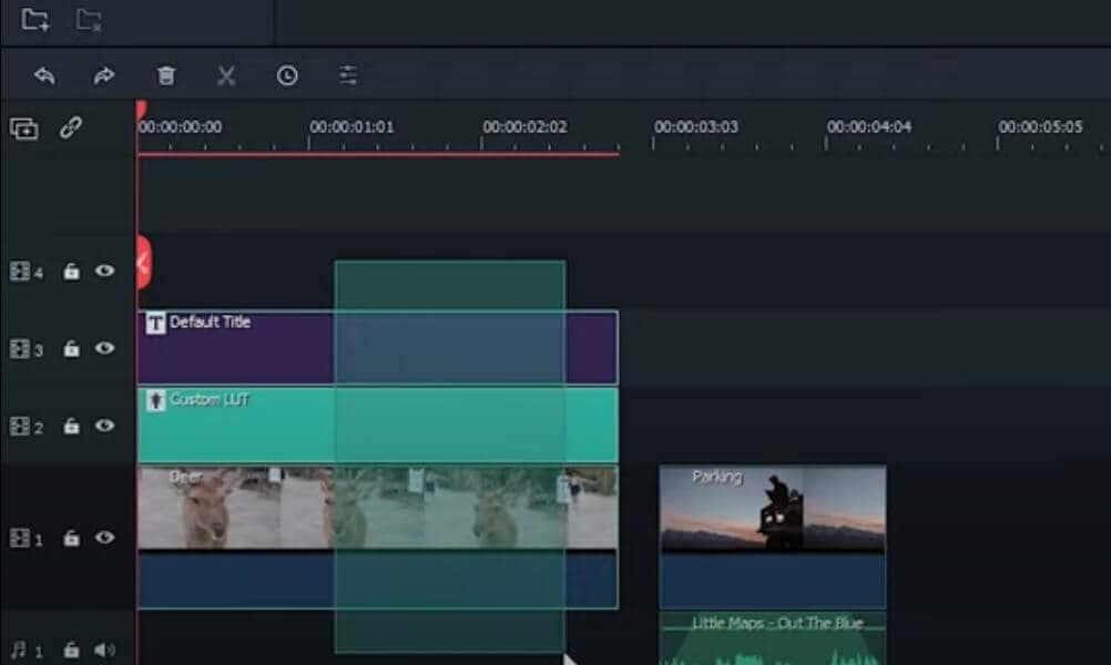 select clips