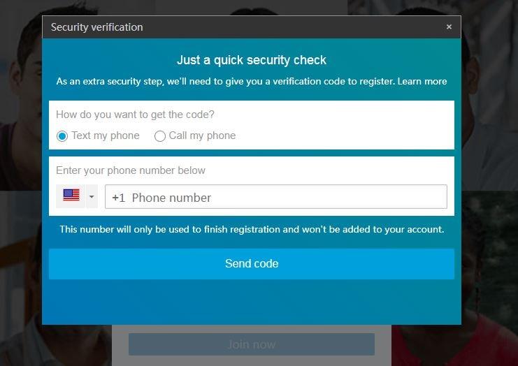 linkedin secure check