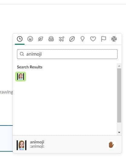 Send Slack Emoji
