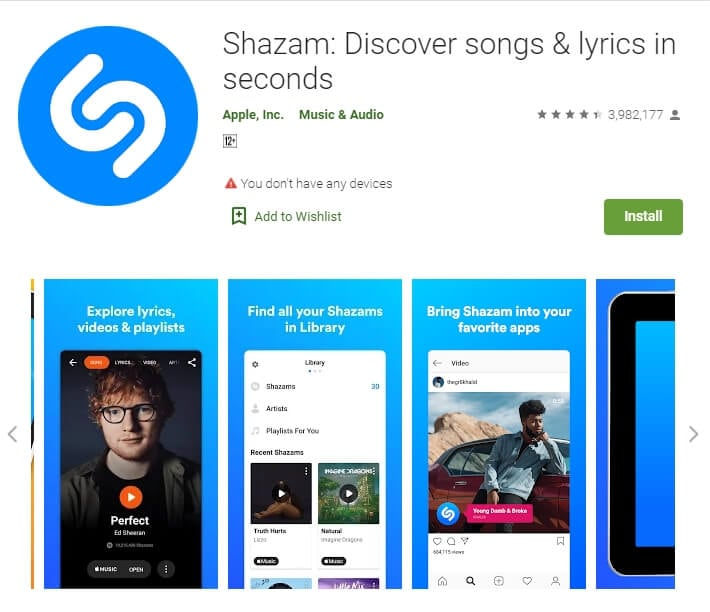 Shazam: Discover songs & lyrics in seconds for Android