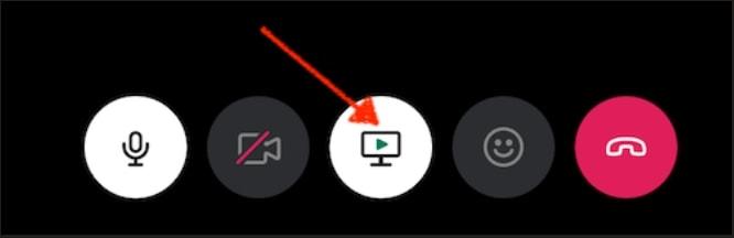 Slack screensharing