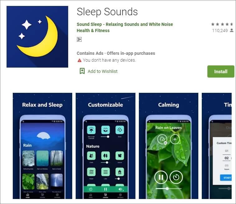 Sleep Sounds App