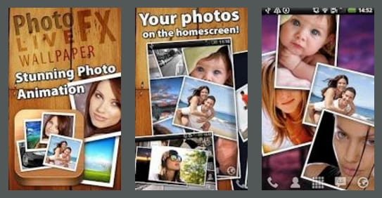 Photo FX Live Wallpaper. photofxlive slideshow apps