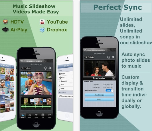 slideshowdirector photo slideshow app