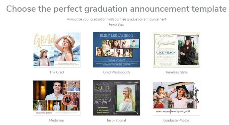 Smilebox Graduation Party Invitation Template