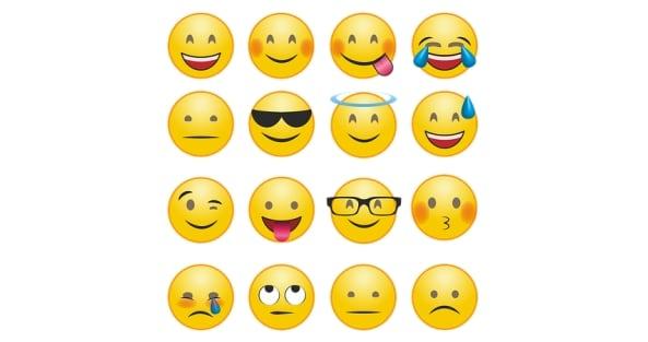 Emoji type: Smiley people