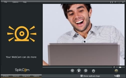 SplitCam Webcam recording software