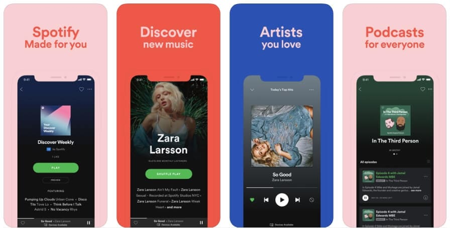 Best Podcast Player App - Spotify