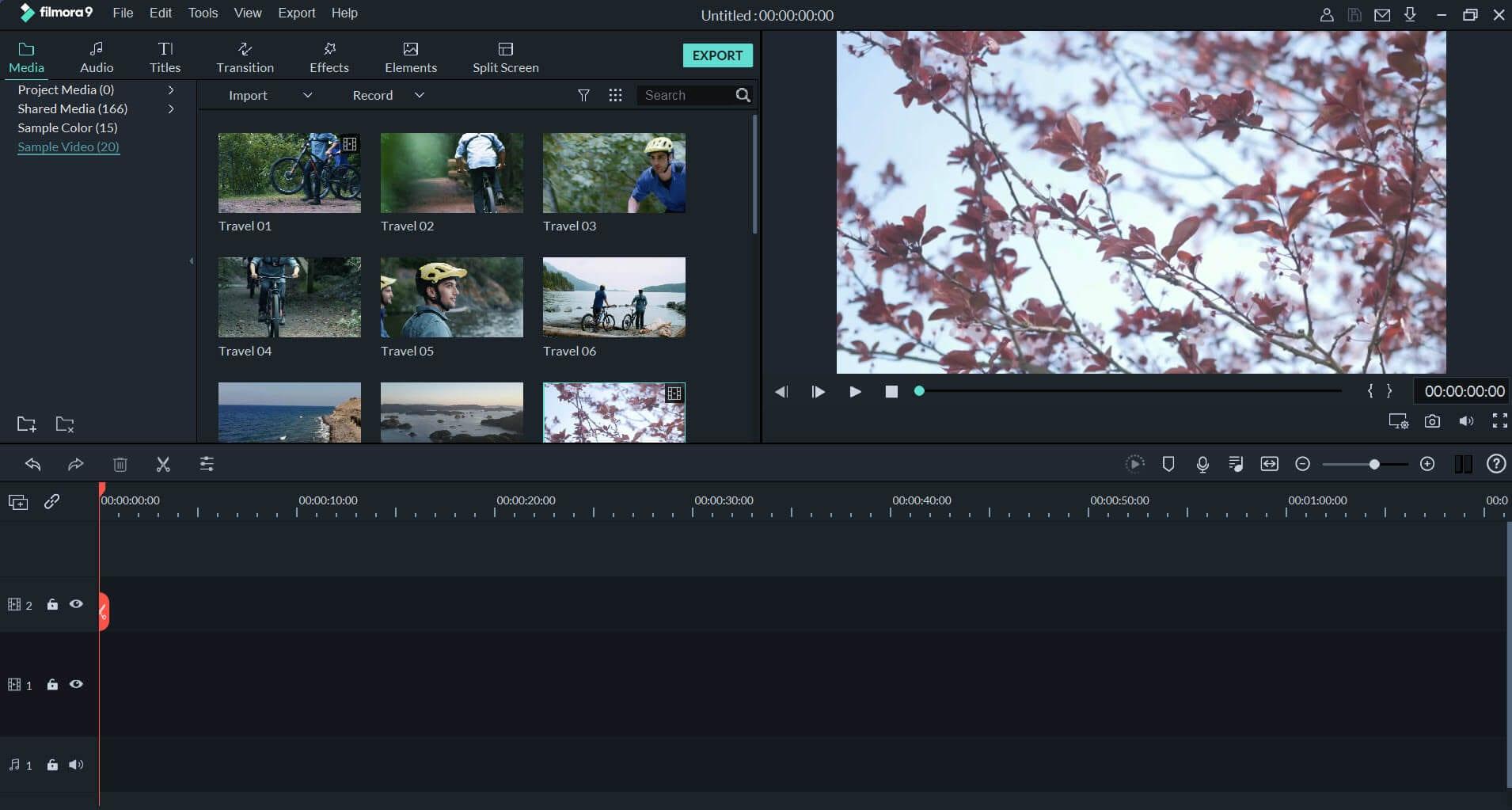 Filmora 9  4K video Editing