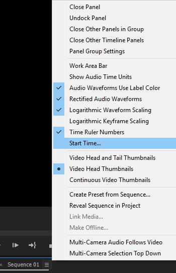 verify fps timecode