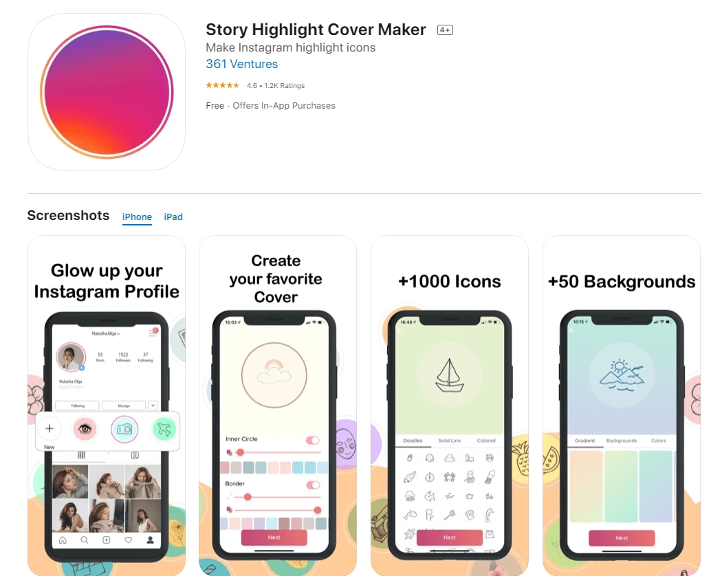 Story Highlight Cover Maker