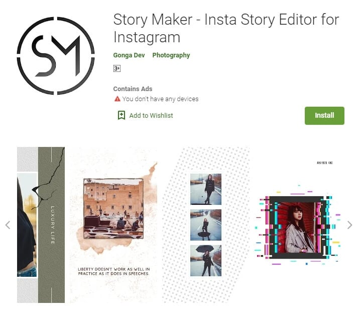 Story Maker for Android