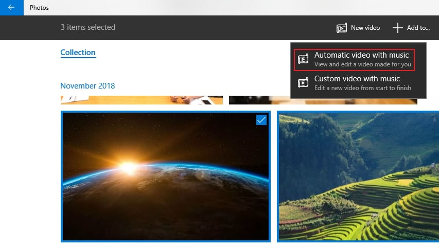 Windows10 – Story Remix di Foto