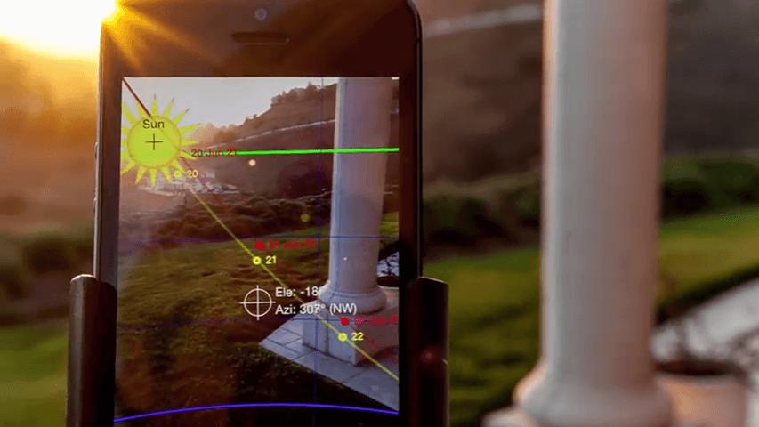 sun seeker app