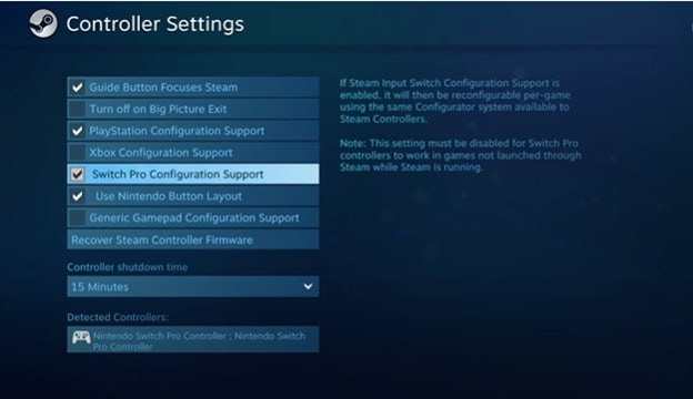 switch-pro-controller-steam-set-up