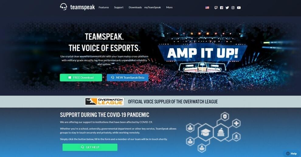 discord alternative for gamers - teamspeak