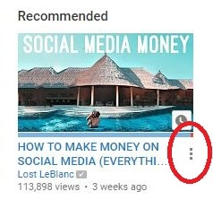 Tell YouTube Not Interested