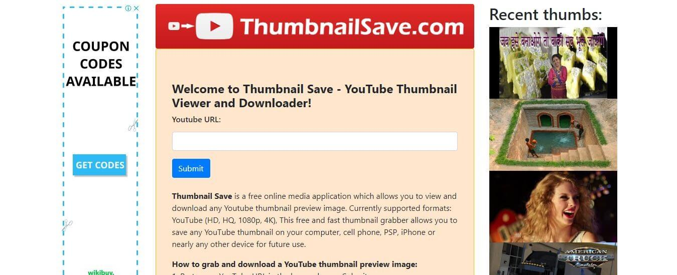 youtube thumbnail save tool