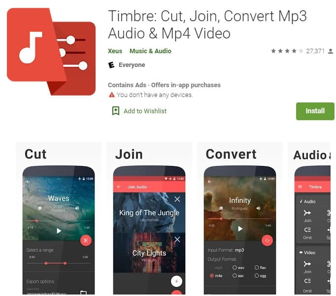 Timbre: Cut, Join TikTok Videos