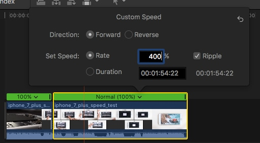 Apply Timelapse effect -2