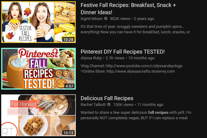 Analyze recipes Video Thumbnail