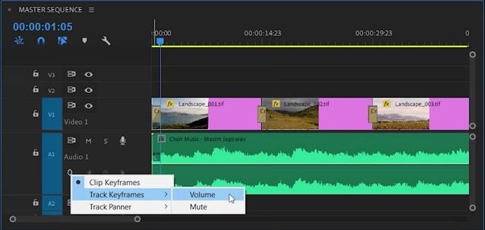 Track Keyframes in Adobe Premiere Pro