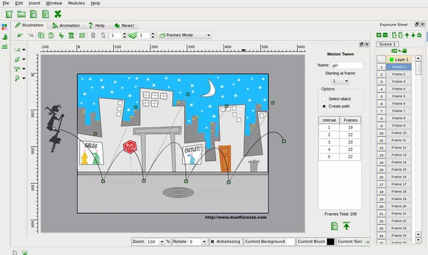 Tupi free animation software mac