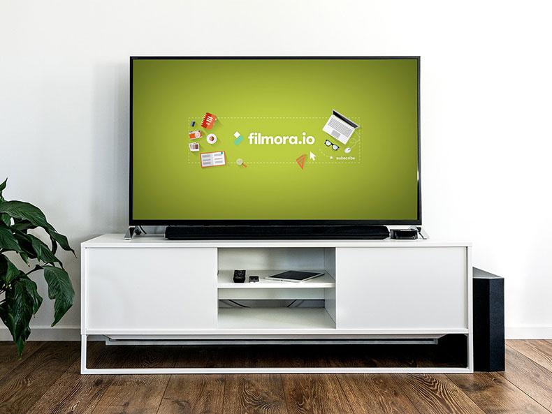 tv dimension display