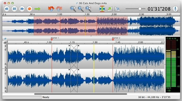TwistedWave Online Podcast Audio Editing