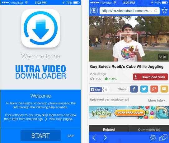 ios video downloader ultra downloader plus