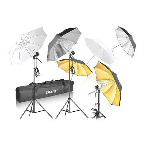 Emart 1575W  Umbrella  Lighting Kit With Translucent