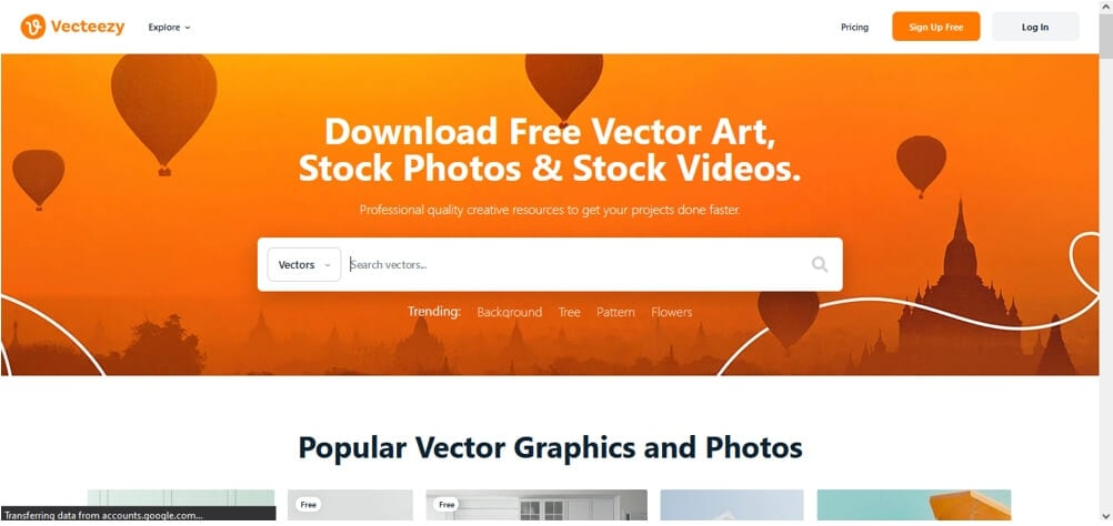 Vecteezy stickers for Vimeo