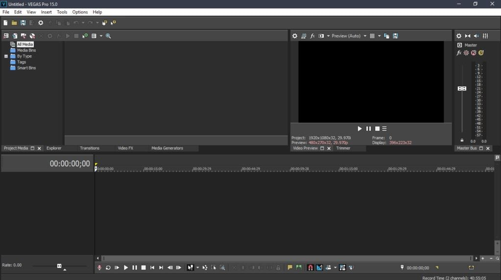 VEGAS Pro color grading software