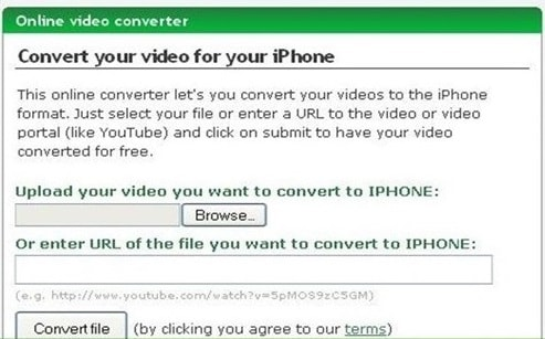 Convert your video for your iPhone