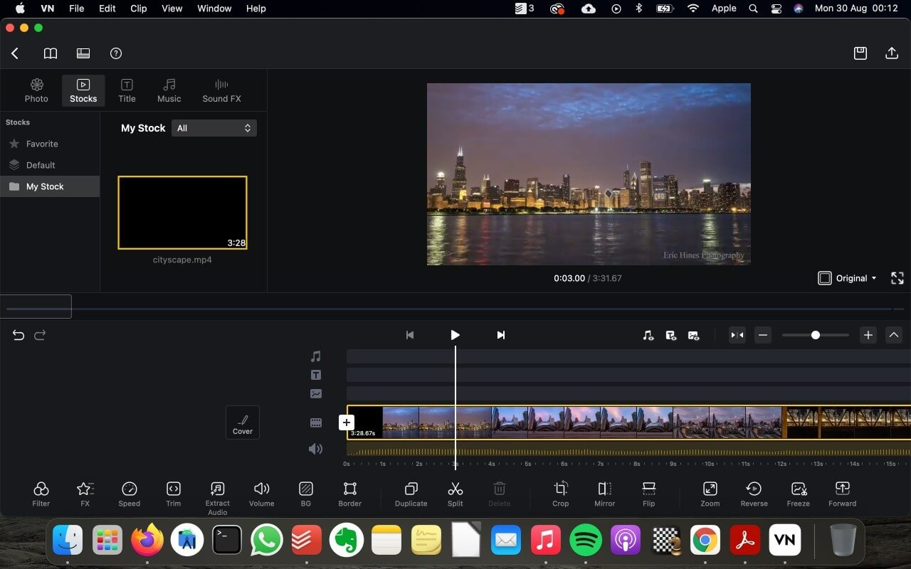 VN Video Editor for Mac