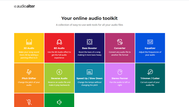 online vocal remover audioalter
