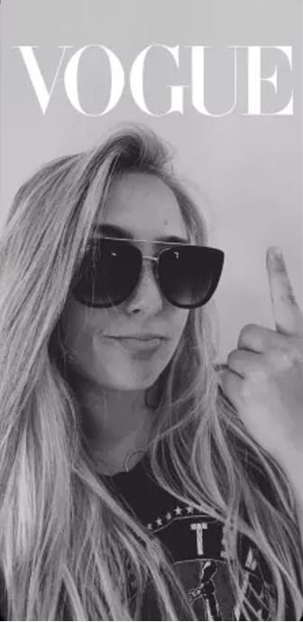 Most popular Snapchat filters and lens -Vogue Noir