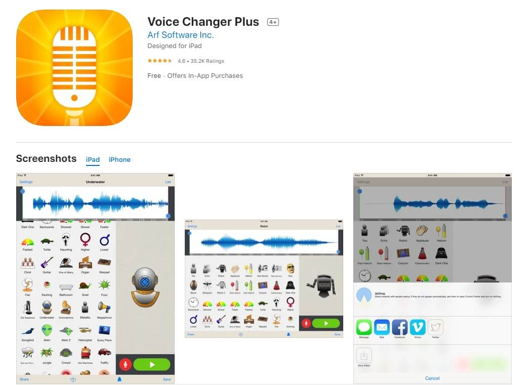 Anime voice changer app for ipad